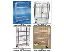 OPTIONAL SHELVES FOR ROLLING WIRE CARTS